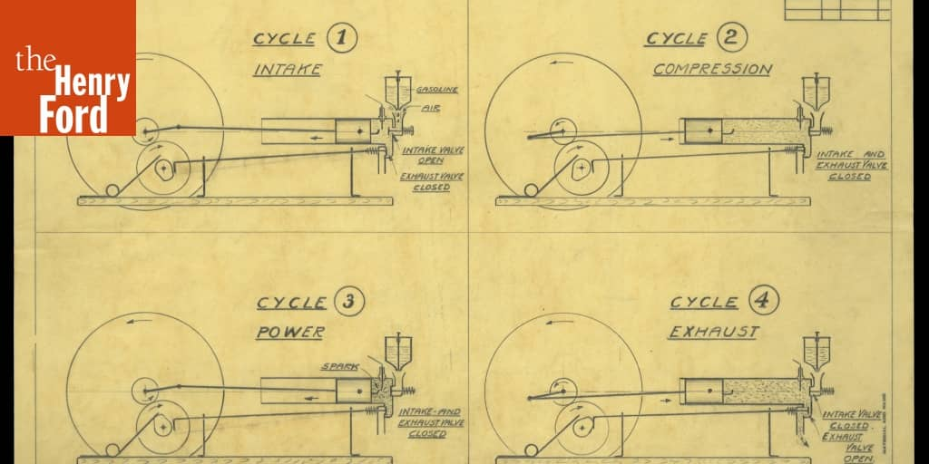 Drawing Of The 1893 Kitchen Sink Engine   U0026quot Diagram Of 4