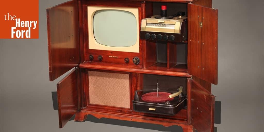 RCA Television-Radio-Phonograph Combination Console, Model
