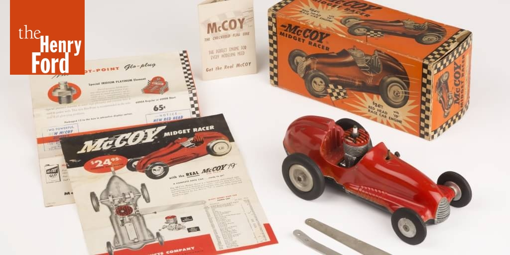 Tether Cars: Big Thrills in Small Scale - The Henry Ford