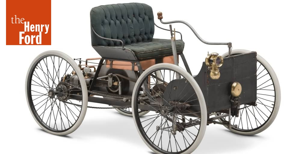 Who Invented The First Car >> 1896 Ford Quadricycle Runabout First Car Built By Henry Ford The