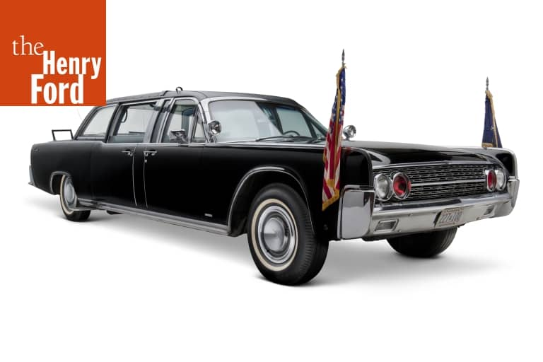 1961 Lincoln Continental Presidential Limousine Used by John